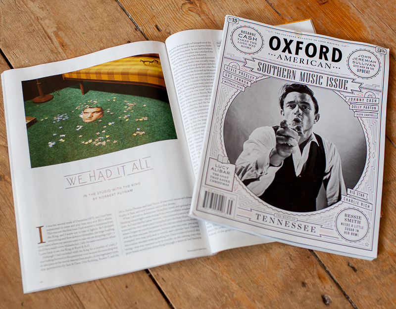 Featured in this month's Oxford American magazine